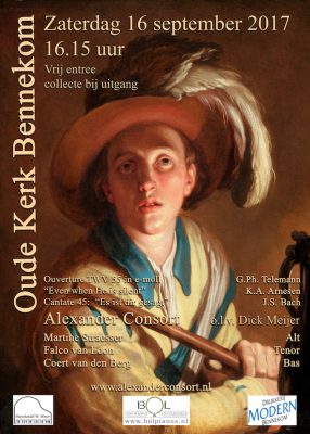 ALEXANDER CONSORT CANTATECONCERT 16-09-2017