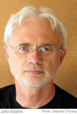 Componist John Adams, een getuige van onze tijd, twee lezingen